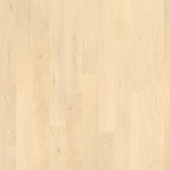 Eiche Rustic, 1 sávos fehér, fózolt lakkozott szalagparketta